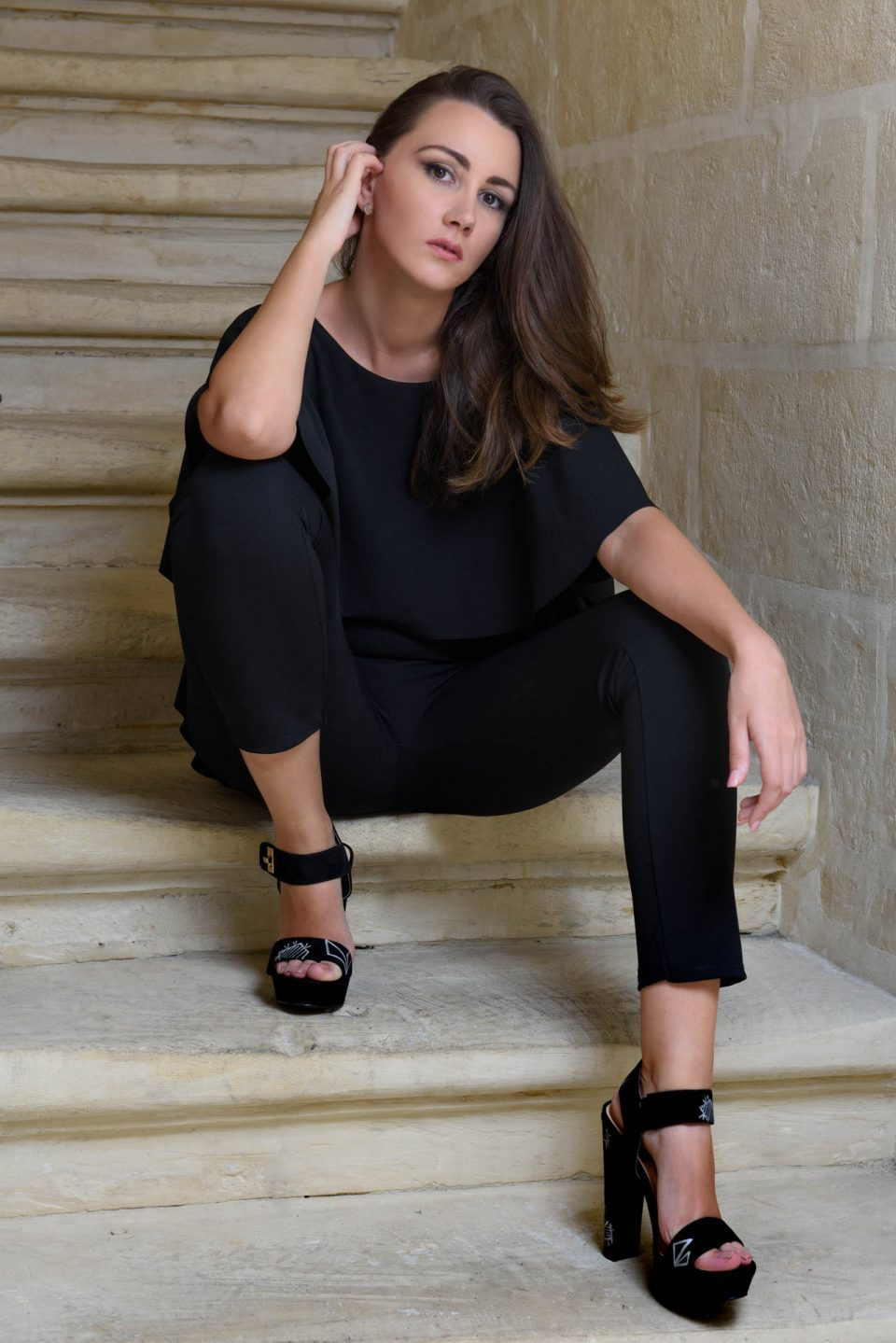 Fashion photography, Desiree fashion design, Malta